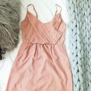 Nordstrom Nude Mini Dress